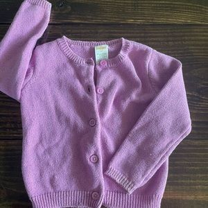Gymboree Sweater-Purple with silver specs